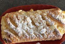 Λεπτή τρυφερή ζύμη με κρέμα που λιώνει στο στόμα Sweet Bakery, French Toast, Pie, Bread, Baking, Breakfast, Desserts, Food, Cakes