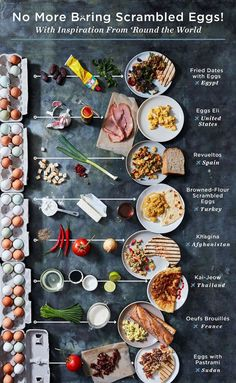 Food, Food menu design, Food Scrambled eggs, Egg breakfast, Breakfast recipes - You& Never Think of Scrambled Eggs as Simple Again - Egg Recipes, Brunch Recipes, Breakfast Recipes, Cooking Recipes, Chicken Recipes, Healthy Recipes, Dinner Recipes, Easy Sandwich Recipes, Sandwich Ideas