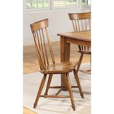 Shop 2 Summerhouse Transitional Golden Oak Wood Dining Side Chairs with great price, The Classy Home Furniture has the best selection of to choose from Wooden Dining Chairs, Dining Chair Set, Golden Oak, Side Chairs, Cool Kitchens, Home Furniture, Home Improvement, Home Decor, Oversized Chair