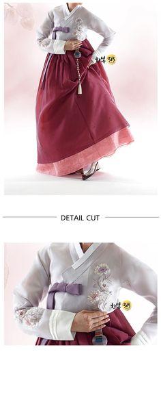 sonjjang design Hanbok-Korean traditional clothes, modernized hanbok for women nk370