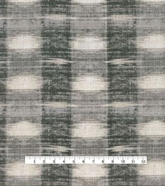 PKL Studio Upholstery Décor Fabric-Sashika Plaid Cinder, Rh Rugs, Cinder, Joanns Fabric And Crafts, Plaid Pattern, Fabric Decor, Accent Pillows, Window Treatments, Upholstery, Studio