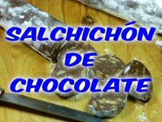 Receta de salchichón de chocolate. Sorprende en la mesa con este original postre.