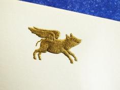 Flying Pig Stationery
