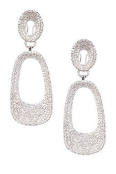 Sterling Silver Pave
