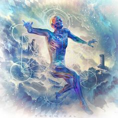 "Threyda | Art & Goods | ""Aperture of the clouds"" - Justin Totemical  #vibes #indigo #moonchild#consciousness #kundalini #spaceporn #synchronicity #alchemy #highervibes #chakra #goddess #higherself #moonphases #om #divine #thirdeye #threyda #peace #awakening #crystals #love #art #hippie #universe #cosmos #zen #psychedelic #goodvibes #magic #denver #colorado #trippy #painting #sculpture #digitalart #visionaryart #justintotemical #threyda"