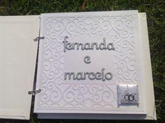 Livro de Assinatura Casamento | Mimos da Silhouette | Elo7