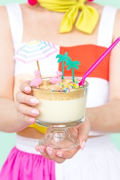 """» Beach Vibes """"Dirt"""" Pudding Cups"""