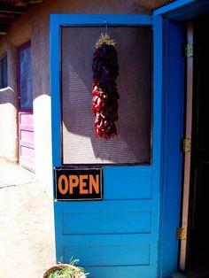 Door, Taos Pueblo, New Mexico by Caitlin Harper