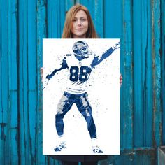 Dez Bryant First Down Dallas Cowboys Poster