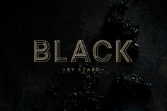 Round – Black by Ezard