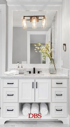This is a really timeless, clean design for a bathroom. There is also a lot of storage which is utilised well, which should be great inspiration for those of us with smaller bathrooms.