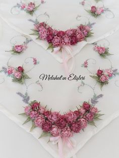 Ribbon Art, Ribbon Crafts, Embroidery Supplies, Embroidery Patterns, Silk Ribbon Embroidery, Hand Embroidery, Fabric Flowers, Paper Flowers, Hobbies And Crafts