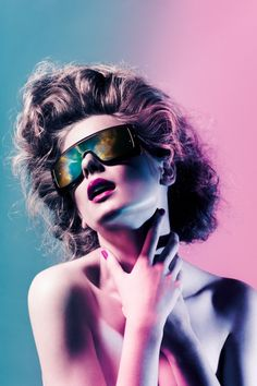 lighting fashion sunglasses photo shoot inspiration #photoshop reflections