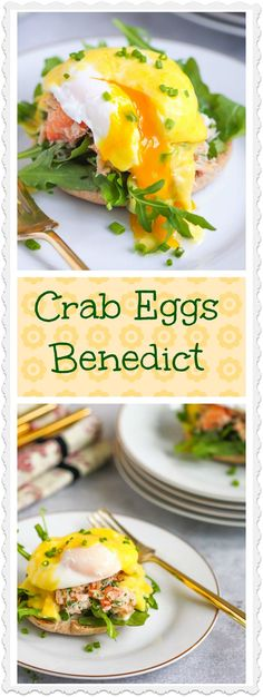 Treat mom to an extra-special breakfast for Mother's Day. Crab eggs benedict is a tasty twist on the classic.