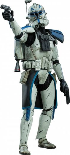 Star Wars Action Figure 1/6 Captain Rex Phase II Armor