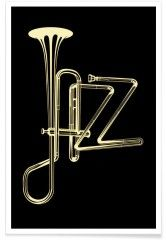 jazz poster - Premium Poster