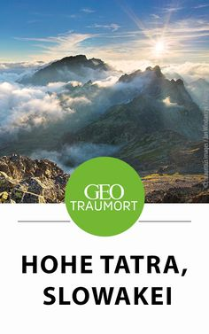 Hohe Berge, glaseklare Bergseen und Wasserfälle, aber auch romantische Täler mit Wäldern und urigen Berghütten – das ist die Hohe Tatra in der Slowakei.