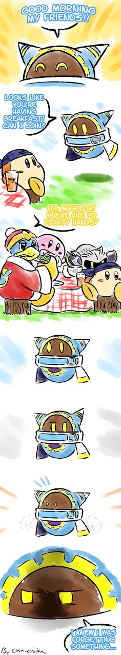 OH MY GOSH! MAGOLOR WHY