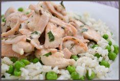 ŐRÜLTEN JÓ ÉTELEK : Zöldborsó, gépsonka és csirkemell azaz A három alapelem 2. Potato Salad, Potatoes, Meat, Chicken, Ethnic Recipes, Food, Potato, Essen, Meals