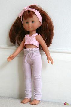 Nouveau DIY : un pantalon de poupée à partir d'un drap housse « Blog de Petit Citron