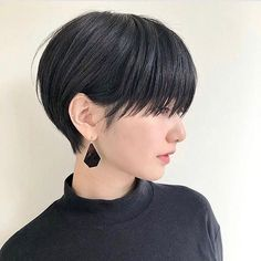 Hair Cuts Styles Pixie For 2019 Haircuts For Long Hair, Short Bob Hairstyles, Cool Hairstyles, Shot Hair Styles, Curly Hair Styles, Natural Hair Styles, Medium Hair Cuts, Short Hair Cuts, Ulzzang Hair