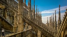 Gothic Roof, #Duomo #Milano