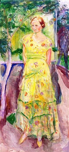 bofransson:  Henriette Olsen,Edvard Munch 1932