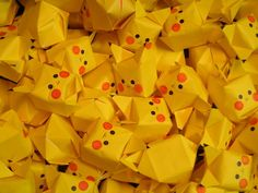 This awesome pikachu origami cube is really simple and quick to make, download a diagram, and make one today!