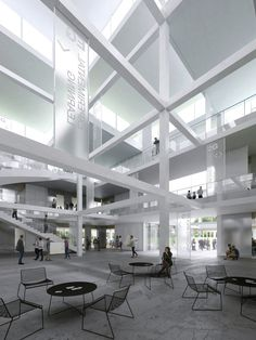 Sou Fujimoto designs university learning centre made from stacked cubes