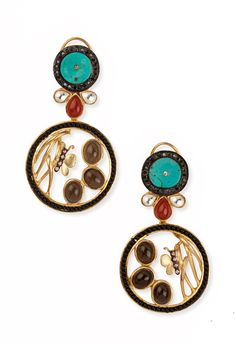 Look glamorous with this beautiful butterfly earrings by Aashita Saraf from TheAmalaanStore.com