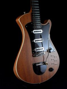"Mikael springer Halfbreed Special | Custom made Halfbreed, based on the specs of Brian May's ""Red Special"" guitar."
