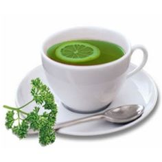 Parsley Tea - Good for urinary tract infections (UTI) or bladder infections. Especially if you can't  tolerate Cranberries for any reason.