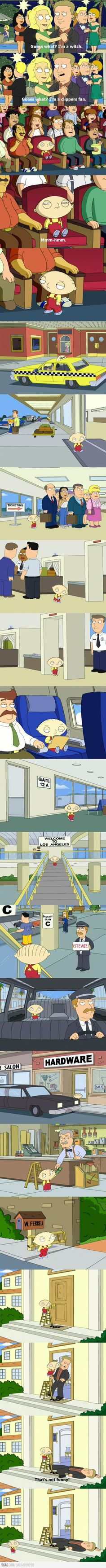 Just Stewie being awesome.