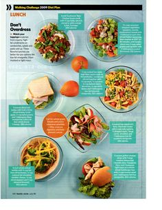 #Diet #Lunch options