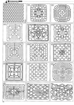 Httpwwwiris 1400 Crochet Patterns For Allhtmlfree crochet patterns: free crochet granny square charts and projectsok, this is for those that can read diagrams. I had a hard time pulling up the site though.Delicatessen in gehaakte Gabriela: Patterns r Motifs Granny Square, Crochet Motifs, Crochet Blocks, Granny Square Crochet Pattern, Crochet Diagram, Crochet Stitches Patterns, Crochet Chart, Crochet Squares, Crochet Doilies