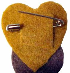 Pinner said:  I'll have to remember this when I need to turn something felt into a pin. Great idea.