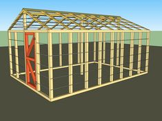 Where to Get DIY Greenhouse Plans for Free: Small Greenhouse Plan from How to Specialist #greenhousediy