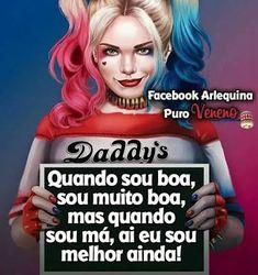 Resultado de imagem para frases arlequina Inspirational Phrases, Disney Memes, Sad Girl, Harley Quinn, Joker, Humor, Words, Bb, Pasta