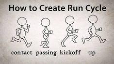 How to Create Run Cycle AnimationComputer Graphics & Digital Art Community for Artist: Job, Tutorial, Art, Concept Art, Portfolio