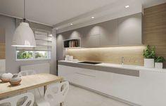 Ściana nad blatem kuchennym to nie tylko płytki- inspiracji część II - Myhome