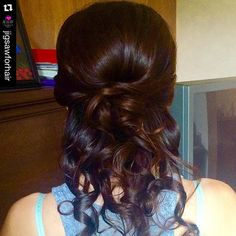 """""""#bridesmaidhair style by @_soulace_ ! ✨#yegstylist #stylesandthecity #bridesmaidshair #weddinghair  #weddingstyle"""" Photo taken by @stylesandthecitybytawsha on Instagram, pinned via the InstaPin iOS App! http://www.instapinapp.com (07/25/2015)"""