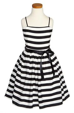For your little flower girl. Un Deux Trois Party Dress (Big Girls) available at #Nordstrom