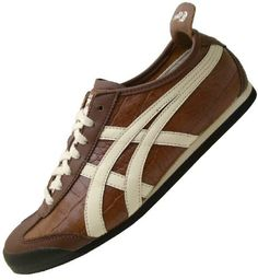 ASICS ONITSUKA TIGER MEXICO 66 crocodile brown