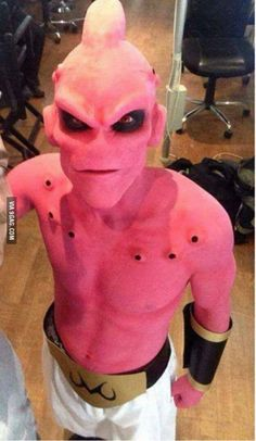 The best cosplay ever - Majin Boo - Dragon Ball
