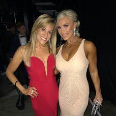 Lilian Garcia and Dana Brooke Lilian Garcia, Dana Brooke, Professional Wrestling, Wwe Superstars, Most Beautiful, Sexy Women, Bodycon Dress, Glamour, Formal Dresses