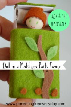 How To Make A Doll In A Matchbox Party Favour | Parenting Fun Every DayParenting Fun Every Day