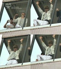 LUHAN tryin 2 be spider man