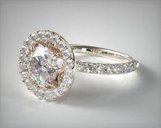 49515 engagement rings, designer engagement rings, james allen exclusive engagement ring item - Mobile