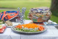A FLORIDA/GEORGIA TAILGATE WITH THE BOWLES AND PILLANS » Kathy Miller Time Tailgating Blog Entertaining and Travel