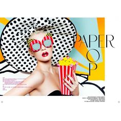 Paper Pop by Thomas Knieps for 74 Magazine ❤ liked on Polyvore featuring backgrounds Still Life Photography, Photography Props, Beauty Photography, Fashion Photography, Elle Spain, Vogue Spain, Water Nail Art, Retro Packaging, Pop Art Makeup